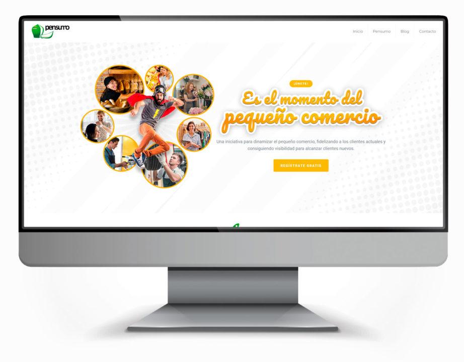 pagina web pensumo